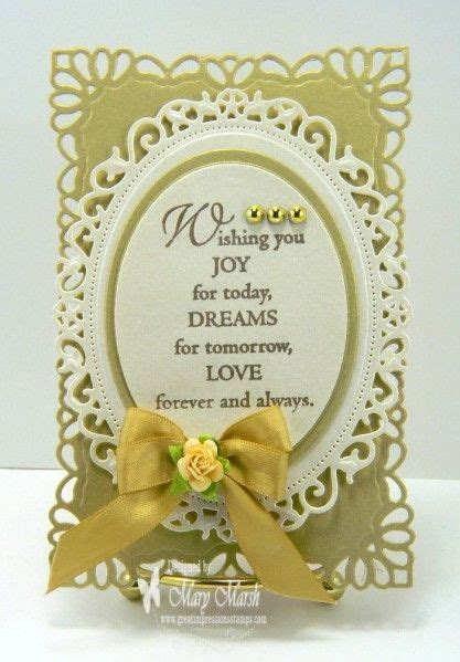 love  verse great impressions stamps wishing  joy  wedding cards wedding cards