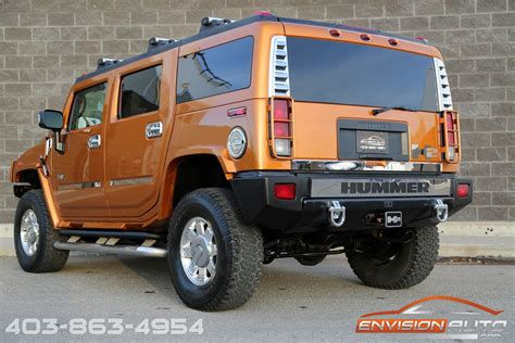 auto body repair training 2006 hummer h2 suv lane departure warning 2006 h2 hummer suv limited edition fusion orange envision auto calgary highline luxury