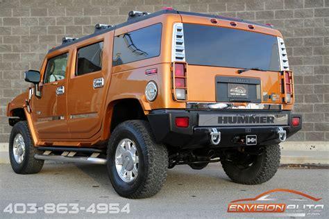 hummer suv limited edition fusion orange