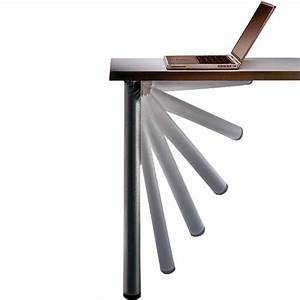 Black Click Foldable Table Leg Rockler Woodworking and