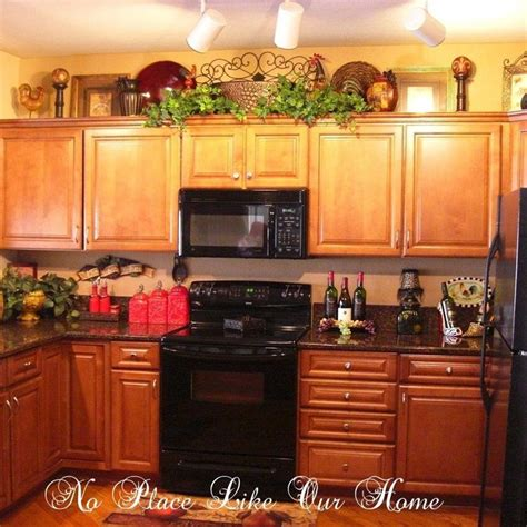 Decorating Ideas For The Kitchen Cabinets by 42 Best Decor Above Kitchen Cabinets Images On