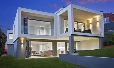 architect design  home cube house seaforth sydney