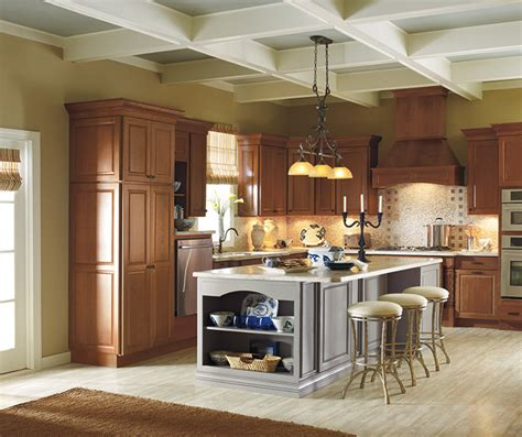 houzz painted kitchen cabinets room cabinet photos design style kemper cabinetry 4358