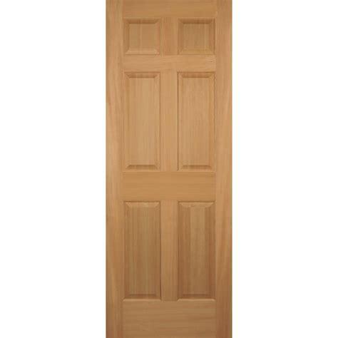 home depot 6 panel interior door builder 39 s choice 32 in x 80 in hemlock 6 panel interior