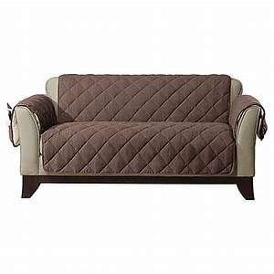 sure fitr reversible flannel and sherpa furniture cover With sure fit furniture covers bed bath and beyond