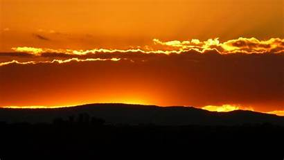 Horizon Sunset Clouds Hills Sky Desktop Wallpapers