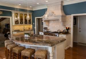 curved island kitchen designs 16 impressive curved kitchen island designs