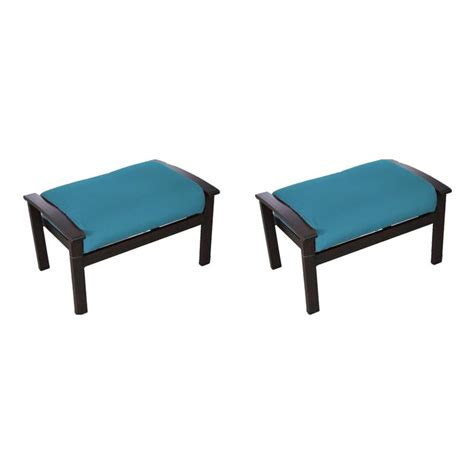 allen roth shop allen roth atworth brown ottoman at lowes com