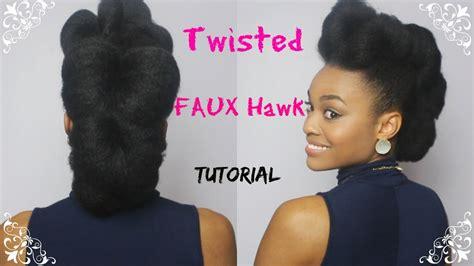 faux hawk  natural hair day    days  christmas