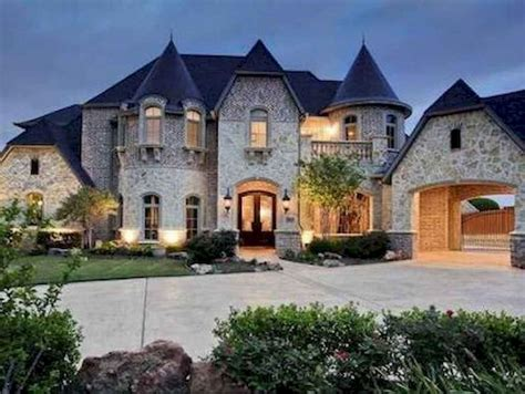 40 Modern Castle Homes Exterior Landscaping Roomadnesscom