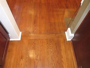 Rooms With Two Different Wood Flooring Tiger Hardwood