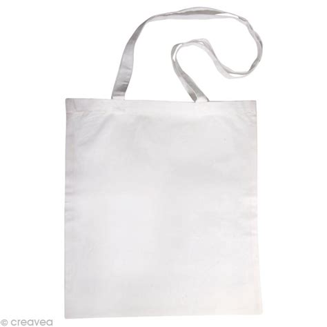 cuisine moleculaire sac en coton personnalisable blanc anses longues sac et tote bag creavea