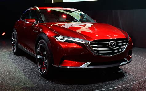 mazda 6 crossover mazda koeru concept could hint at new crossover