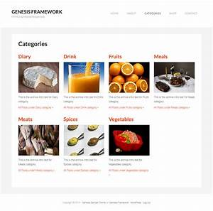 category images grid template in genesis sridhar katakam With wordpress custom category template