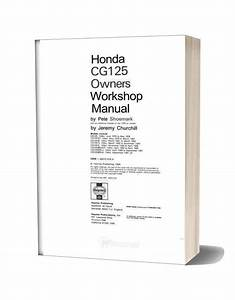 Honda Cg125 76 91 Haynes Service Manual Eng By Mosue