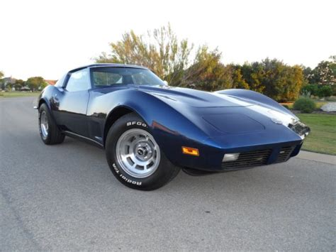 beautiful 1973 ls4 corvette 454 engine now 496 4 speed all the options for sale chevrolet