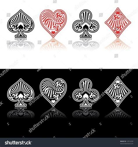 red and black l shade vector card symbols red black shade stock vector 12912439