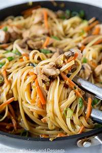 Chicken Lo Mein - Dinners, Dishes, and Desserts