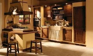 Cucine stile rustico il sapore dei tempi antichi in casa for Cucine stile rustico