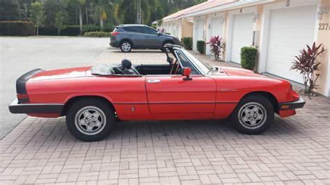 1985 Alfa Romeo by 1985 Alfa Romeo Spider For Sale