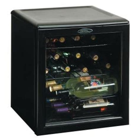 countertop wine cooler danby 17 bottle countertop wine cooler dwc172bl the home