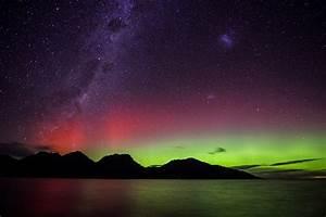 Aurora Southern Lights Melbourne La Aurora Australis O Southern Lights En Tasmania