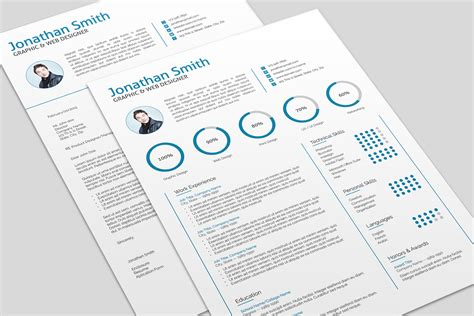 Adobe Indesign Cs5 Resume Templates by Modern Resume Template 04 By Maruf1 On Deviantart