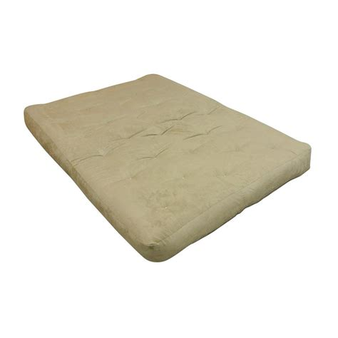 gold bond mattress gold bond 8 in foam and cotton chocolate futon