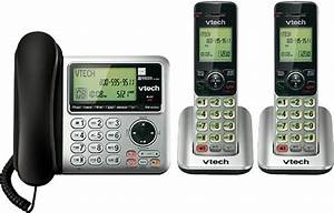 Vtech Vt Cs66492 Dect 6 0 Expandable Phone System With