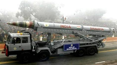 Nuclear-Capable Shaurya Missile to be Inducted And ...