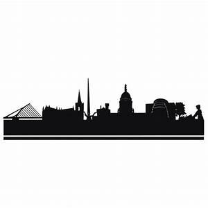 Skyline and city wall decals Dublin