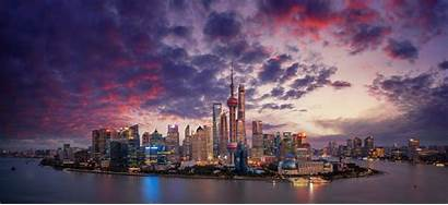 Shanghai China Resolution Chinese Wallpapers River 4k