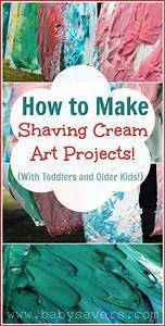 Shaving Cream Art: How to Make Shaving Cream Crafts with ...