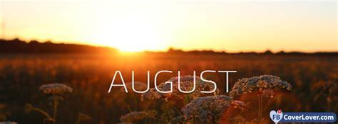 August Sunset seasonal Facebook Cover