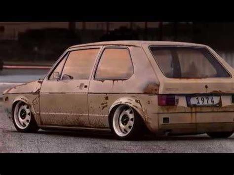 volkswagen golf mk1 german style cabrio gti gtd rabbit stance