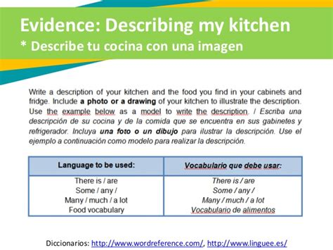 Kitchen In Wordreference by Tutorial Edw2 Learning Activity 1