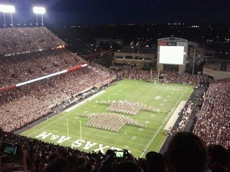 kyle field interactive seating chart