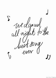 best song ever, lyrics, one direction, midnight memories ...