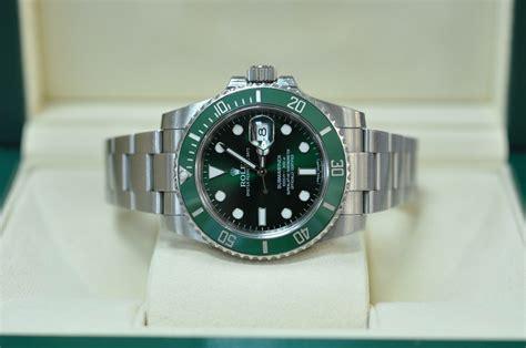 rolex  submariner hulk lv hackett watches