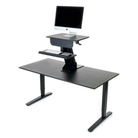 uplift standing desk converter shop uplift adapt height adjustable standing desk converters