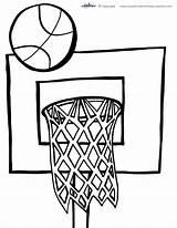 Printable Basketball Coloring Court Preschool Communion Printables Drawing Sheets Nba Awesome Coolest Colouring Sheet Stuff Getcolorings Crayola Fall Clip Clipart sketch template
