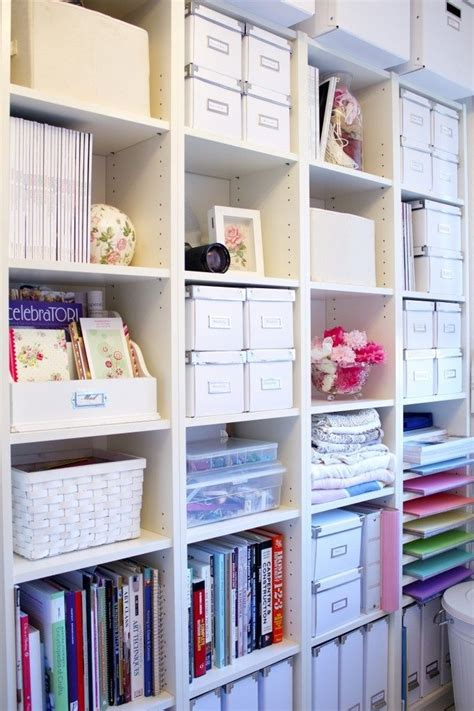 Organization Ideas For Office Or Craft Room Neat And
