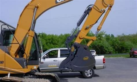 excavator attachment sales shaw brothers barrie onthumbs mechanical hydraulic geith