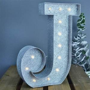 metal light up letters by letteroom notonthehighstreetcom With metal light up letters