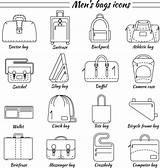 Bags Vector Bag Laptop Mens Icons Clip Illustrations Arts Vectors Similar sketch template