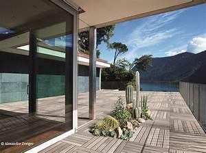 des fleurs qui poussent au milieu de la terrasse cest With marvelous photo deco terrasse exterieur 12 cuisine decoration moderne