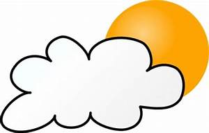 Partly Cloudy Clipart Black And White | Clipart Panda ...