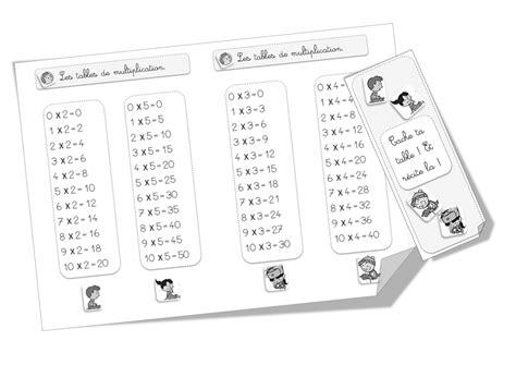 tables de multiplication cm1 a imprimer table de multiplication 224 imprimer cm1