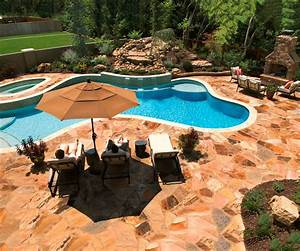 Best swimming pool deck ideas for Inground swimming pool designs ideas