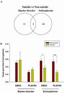 Differentially Expressed Genes Between Suicide Complete